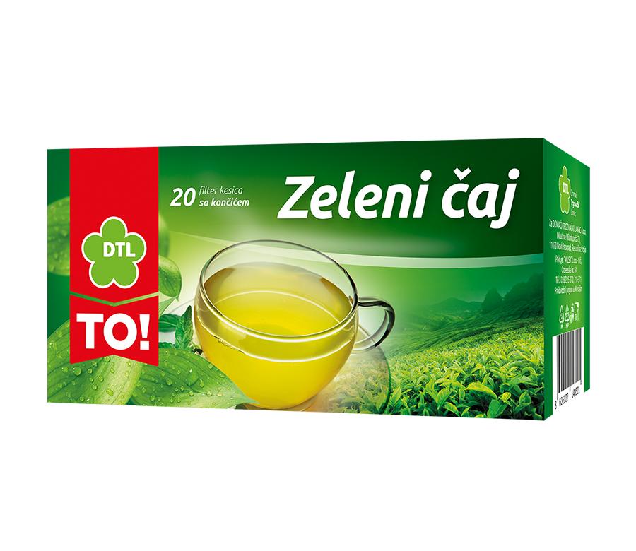 TO! zeleni čaj