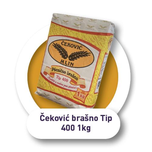 Čeković brašno / Tip 400 / 1kg