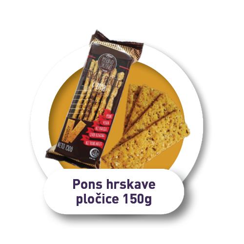 Pons hrskave pločice / 150g