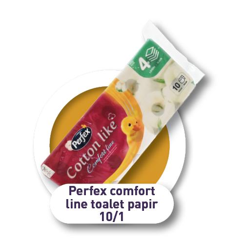Perfex comfort line toaletni papir 10/1